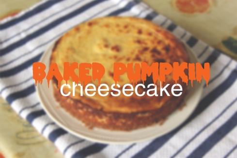 BakedPumpkinCheesecake