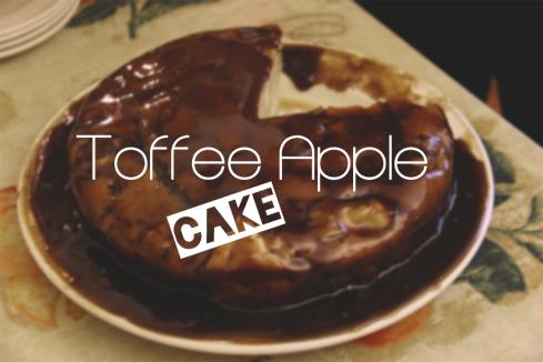 ToffeeAppleCake